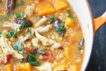Food: Soups / by Cassie @ Back to Her Roots