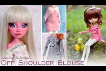 Doll Sewing Tutorials