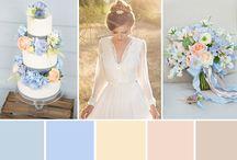 Pastel Color Wedding