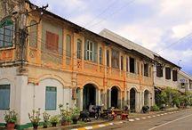 Savannakhet / La ciudad colonial de Savannakhet, en Laos. http://www.vietnamitasenmadrid.com/laos/savannakhet.html