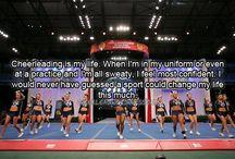 Cheerleading <3 / by Laura Lewis