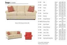 Sofas - from leather to custom fabric / Our line of sofas from Klaussner can be customized to set off your living room in style!