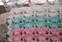 Babies crochet blanket.