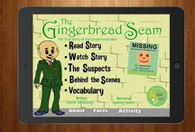 Remixed Fairy Tales: The Gingerbread Scam app / Remake of the Gingerbread Man http://www.quackenworth.com/remixedfairytales.html#gingerbreadscam