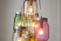 lichtjes / lampen diy