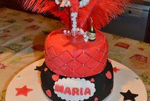 21st girls birthday cake