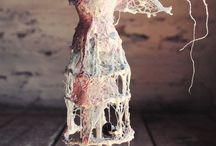 anjelská skulptúra