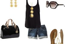 Blacj and gold summer