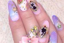 Anime nail art