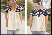 Girls tops and outerwear