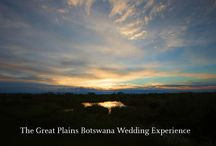 Weddings & Honeymoons / Chose to get married at one of our gorgeous camps! If you don't want to get married away from home why don't you share the once in a lifetime experience of a safari with us as your honeymoon?