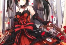 Date A Live デート・ア・ライブ / My first anime/light novel series :3