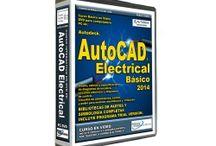 Tutorial AutoCAD Electrical 2014. / Tutorial de AutoCAD Electrical 2014. En Español. Curso en DVD con Asesoría Profesional sin Costo.  Por: Pablo Viadas. Editorial Viadas.