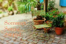 Sommer, Sonne, Strand / Hier findest Du einzigartige und handgemachte Produkte, die Lust auf Sommer, Sonne und Strand machen und in den tollen Farben des Sommers von Verkäufern der Gruppe Dawanda Likes Deutschland