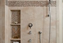 Tile showers / by Diane Bonica
