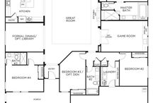Private single family home layout