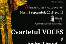 Septembrie 2015 / Concerte in Septembrie 2015