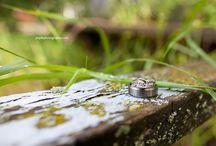 Wedding Rings & Flowers!