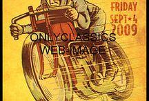 oude posters en reclameborden