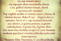 Beachbody recipes / by Traci Hoopingarner