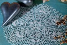 Doily's and Table Cloths / by Brenda Bowen