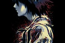 Ryuzaki / Death Note is my life,  Ryuzaki is my fav character he died in anime but that is not important for me :D