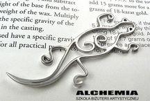 3 Lutowani srebra / Aby połączyć ze sobą elementy wyrobu trzeba opanować sztukę lutowania palnikiem. Osobom początkującym wydaje się to trudne. W rzeczywistości wystarczy zrozumieć na czym polega ten proces i po kilku próbach okazuje się że nie taki diabeł straszny :)