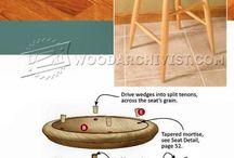 Мебель стул табурет