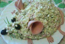 vánoce salat