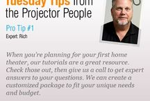 Tuesday Tips from the Projector People / by Projector People