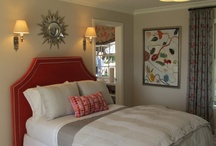 Guest Bedroom ideas / by Gina Mefford