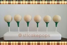 Cake Pops for Men / Let's face it, men can be hard to shop for and cutesy cake pops don't work for them but the STL Cake Pops crew is going to change your mind on this.