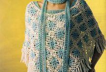 Sjaals haken / Gehaakte sjaals en omslagdoeken