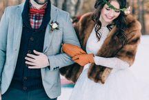 WINTER/CHRISTMAS wedding