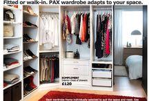 (corner) wardrobes