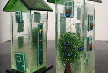 glazen huisjes