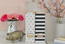 Home: Craft Room - Kate Spade Inspired