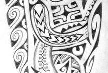 Tatouages polynésiens