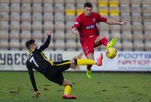 Sean Burns / Pictures of Queen's Park midfielder Sean Burns