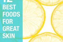 Food for the Skin / Foods to give you the best skin of your life!
