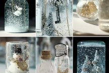 Snow globe / Inspiration board for all your snow globe projects