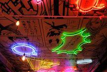 japanese neon sign