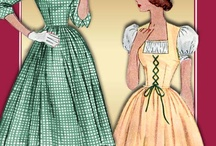 Dress Patterns / by Simone Fisher