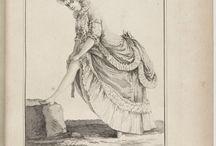 Cahier des Costumes Francais d'Habillemens