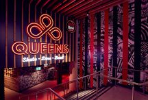 Welcome to QUEENS / First impressions count, so please take a look at our favorite shots of our new, cool, interior.