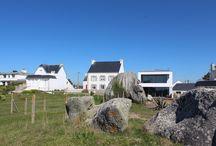 Maison - Lesconil (29) /   Maison d'habitation  - NOVEMBRE 2013 - MAITRISE D'OUVRAGE : PRIVÉE - SURFACE : 185 m2 - MATÉRIAUX : Monomur maçonné en briques auto-isolantes - MISSION COMPLÈTE