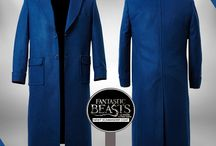 Fantastic Beasts Eddie Redmayne Magical Blue Coat / Get this stylish Newt Scamander Fantastic Beasts Blue Wool Coat at most discounted price from Sky-Seller and avail Worldwide free shipping.