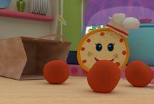 Bambini e cucina: cartoni animati