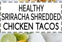 Chicken and Turkey Recipes / Chicken and turkey  recipes are extremely versatile and popular. Easy and quick cooking methods are dietitian recommended.