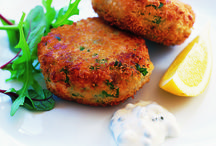 fish and fish cakes